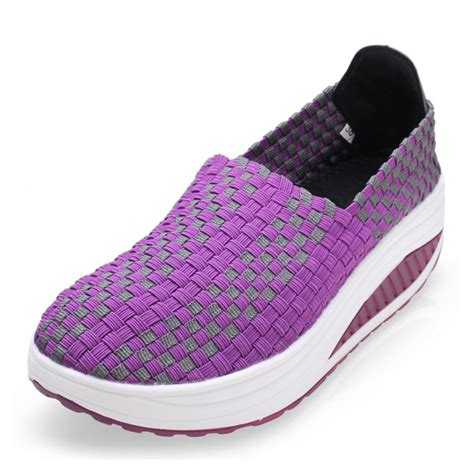 s casual breathable knit shook shoes sneakers alex nld