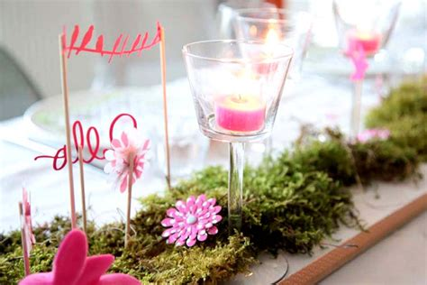 How To Decorate A Cake At Home by Diy Une D 233 Coration De Table Printani 232 Re Kesi Art Le