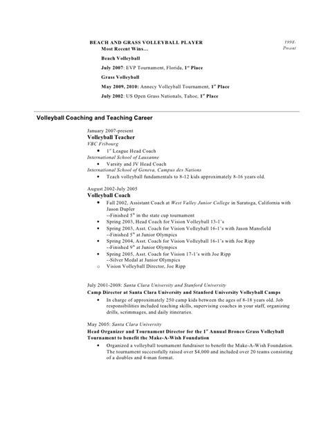 professional baseball player resume resume ideas