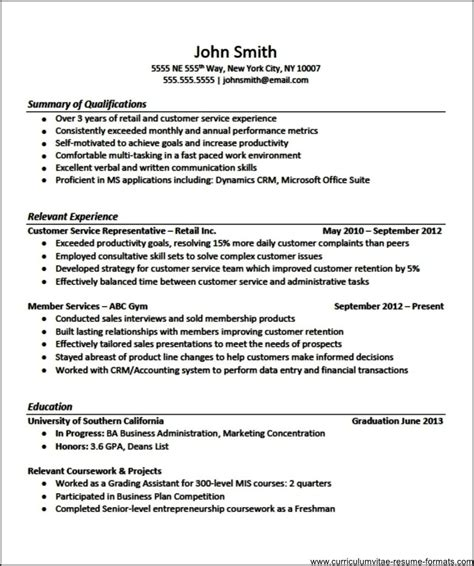 resume templates for curriculum vitae fr template resume builder
