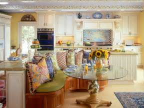 Blue And Yellow Kitchen Curtains Decorating Photos Hgtv