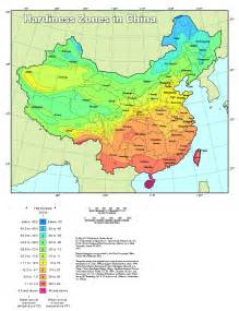 plant hardiness zone map for china