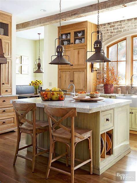 images  rustic kitchens  pinterest