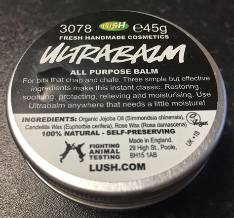 lush uk ultrabalm multi purpose balm