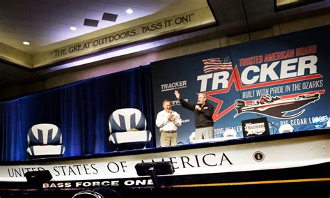 tracker boats lebanon missouri bass pro shops news releases 43rd president george w