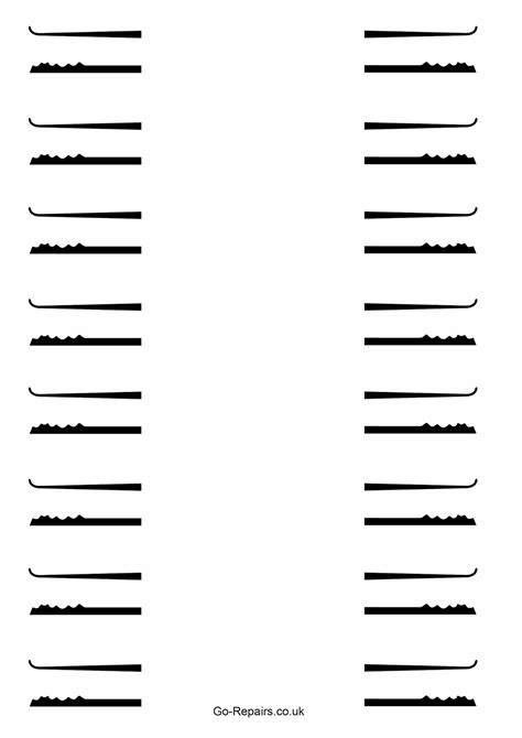 Lock Rake Template go repairs free lockpicks template