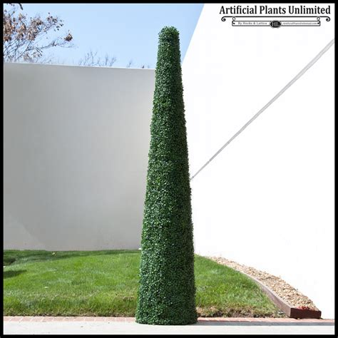 faux topiary outdoor cone topiary plants faux boxwood tree artificial plants