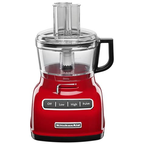 Kitchenaid Food Processor Blades How To Use Kitchenaid 7 Cup Food Processor With Exact Slice System