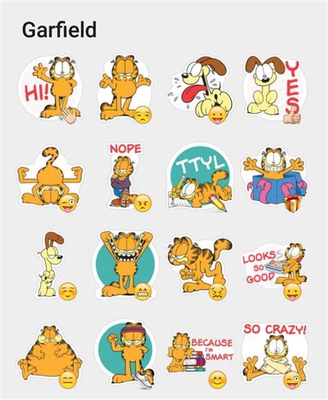 Garfield Stickers garfield sticker set stickers