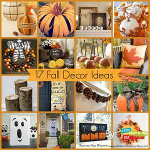 ideas for 17 fall decor ideas a little craft in your day