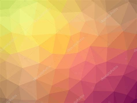 orange pink yellow gradient polygon shaped background