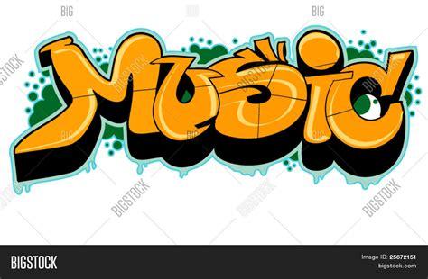 vector  foto graffiti de la  prueba gratis bigstock