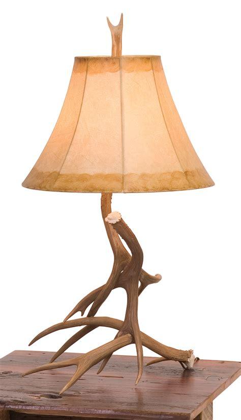 antler table lamp rustic furniture mall  timber creek