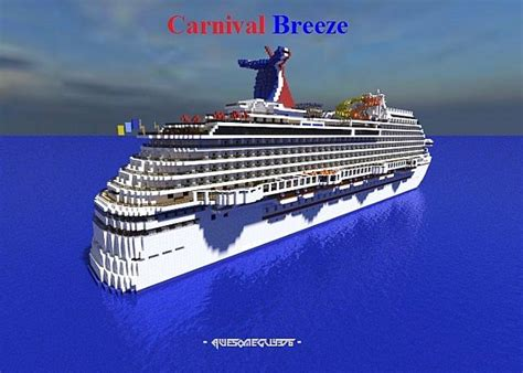 Best Home Interior Design Blogs Carnival Breeze 1 1 Cruise Ship Full Interior Minecraft
