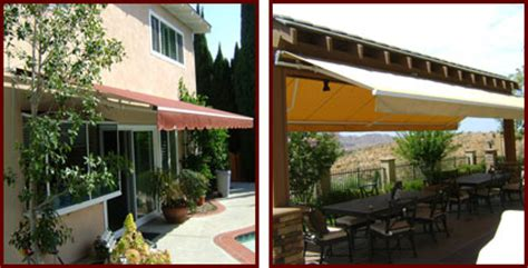 Sunbrella Retractable Awning Prices by Retractable Fabric Awnings Riverside San Bernardino Orange County Ca Manual Electric Motorized