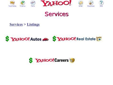 Mba E Commerce by 2002 Mendoza Mba E Commerce Class Presentation On Yahoo
