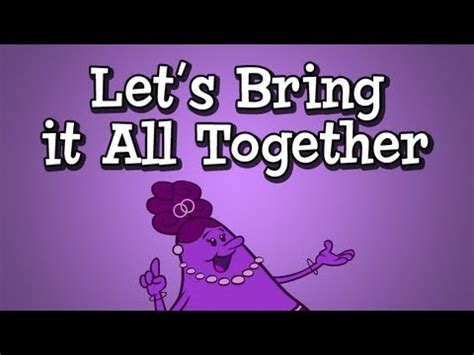 Lets All Drool Together by Conjunction Song From Grammaropolis Quot Let S Bring It All