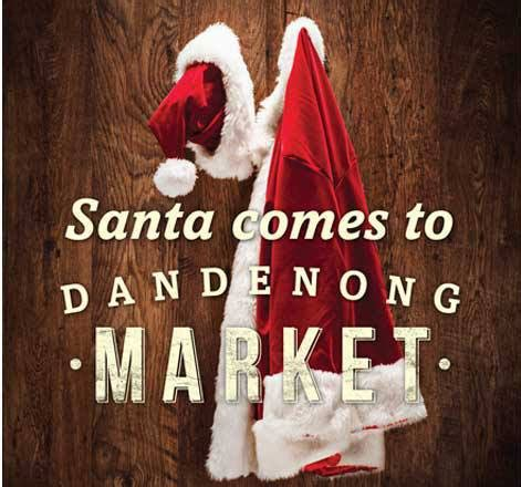 christmas at dandenong market melbourne