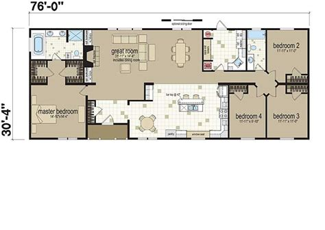 manufactured home sizes floor plans the covington manufactured and modular