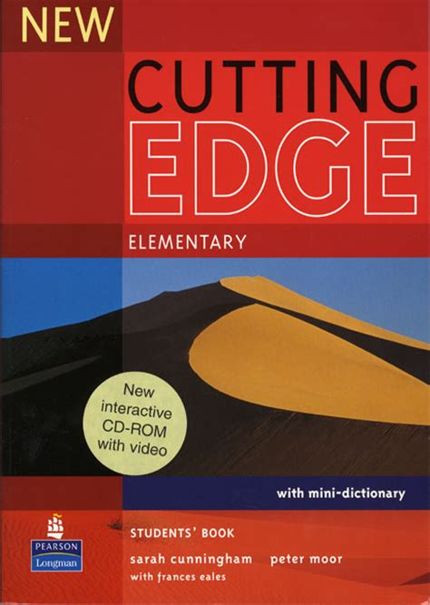 cutting edge a novel books new cutting edge elementary students book and cd rom pack