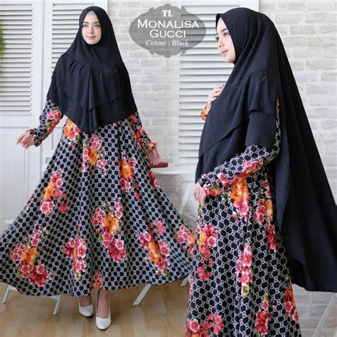 Setelan Gucci Set By Redea gamis syari monalisa gucci size baju muslim cantik
