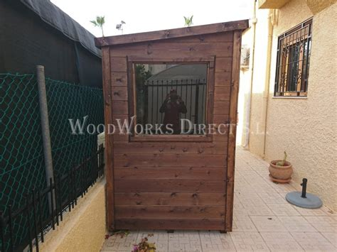 pent roof shed murcia  woodworks direct