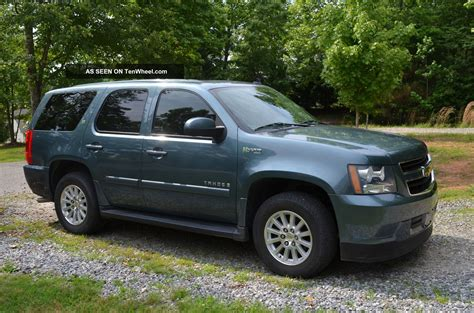 how make cars 2009 chevrolet tahoe transmission control 2009 chevrolet tahoe hybrid better mpg then ltz with all the features