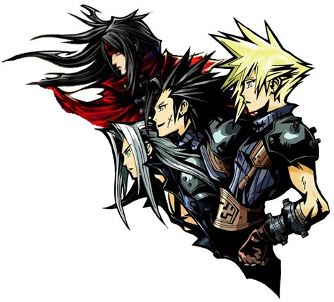 ff7 logo remake with vincent by giovannimicarelli on