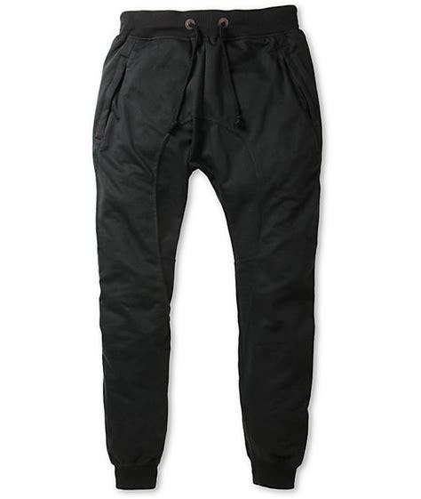 Jogger Sweat Black american stitch harem black jogger sweatpants at zumiez pdp