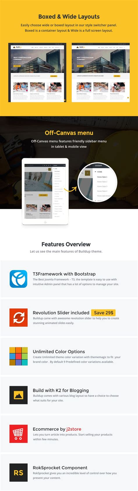 joomla theme t3 buildup construction joomla template kore templates