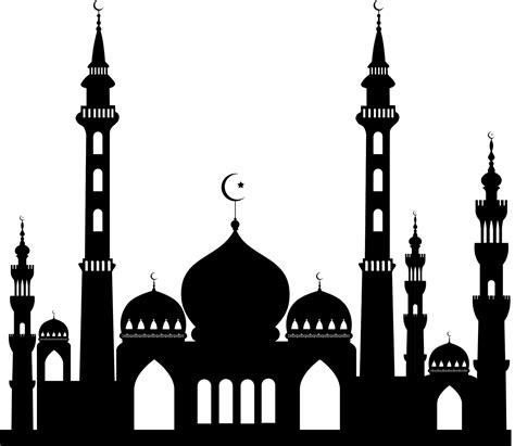 design masjid vector free download bahan edit foto format png part 1