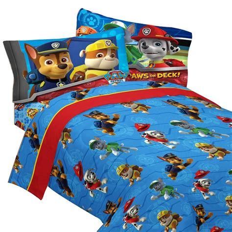 paw patrol bed paw patrol bedding