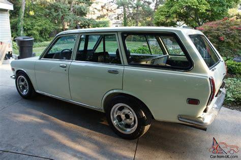 nissan datsun hatchback datsun 510 wagon clean original nissan bluebird white