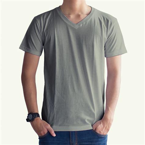 Arm Sleeves Manset Tangan Abu Muda Polos toko jual grosir kaos distro kaos polos abu muda v neck murah