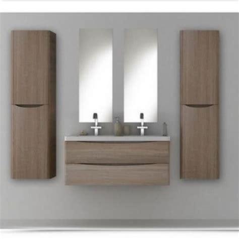 doppio lavello bagno mobile arredo bagno moderno sospeso doppio lavabo 120
