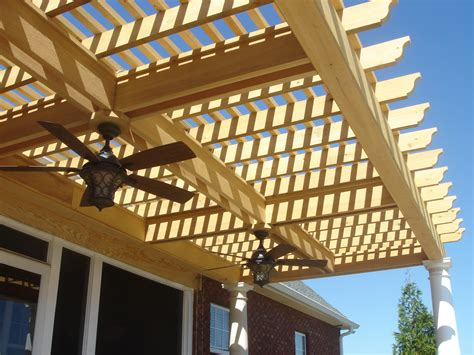 overhead fans with lights how to add lights to a deck screened porch or pergola by