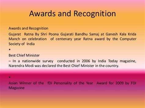 And The Award Does Not Go To by Quotes Of Shri Narendra Modi