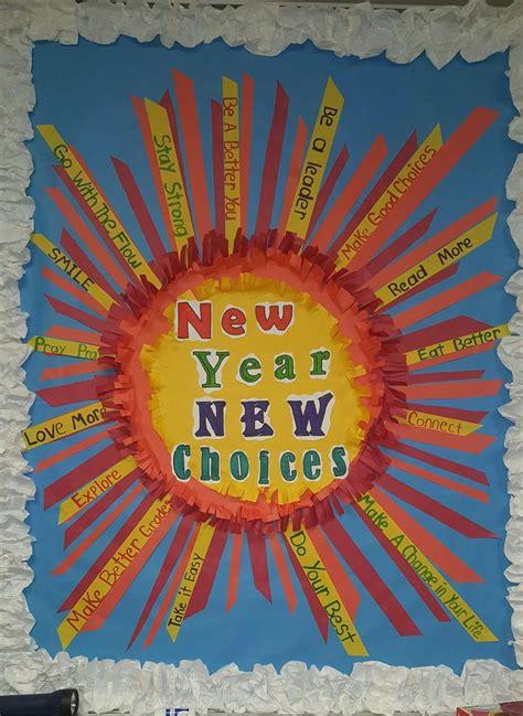 new year board best 25 health bulletin boards ideas on