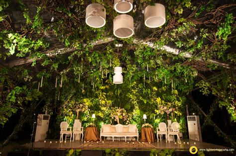 wedding venue bogor outdoor wedding lightworks