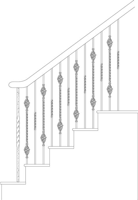 Polermo Collection of Solid Iron Balusters