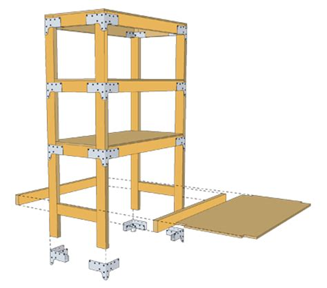 Woodworking Plans Kitchen Island Heavy Duty Shelving Unit Diy Done Right