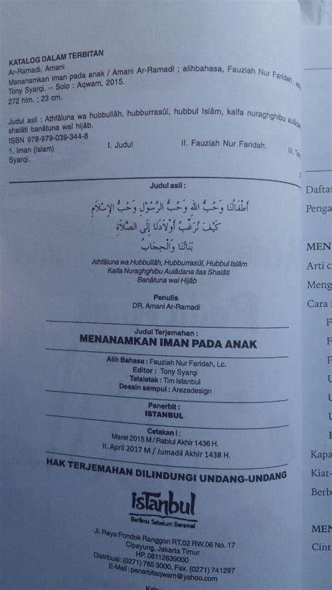 Buku Miracles Of Al Qur An As Sunnah Segel buku anak mendidik anak perempuan