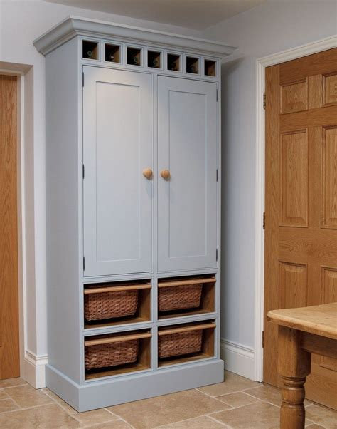 kitchen pantry free standing cabinet build a freestanding pantry diy projects for everyone