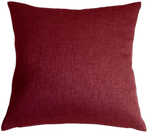 Burgundy Throw Pillows by Chic Burgundy 20x20 Throw Pillow From Pillow Decor