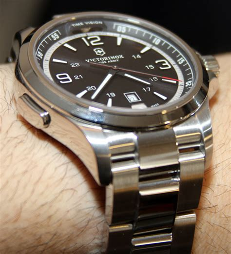 Swiss Army Victorinox Night Vision Watch Review   aBlogtoWatch