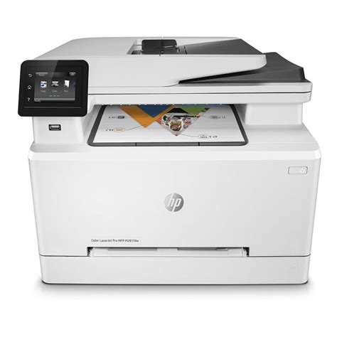 Printer Laserjet Wifi hewlett packard colour laserjet pro mfp m281fdw wireless multifunction printer with fax