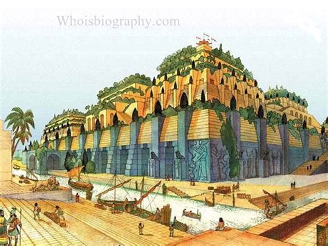 hanging gardens of babylon biography facts family career
