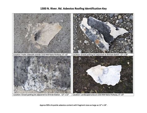 Asbestos Poisoning Research Paper by Some N Portland Debris Contains Asbestos Officials Warn Oregonlive