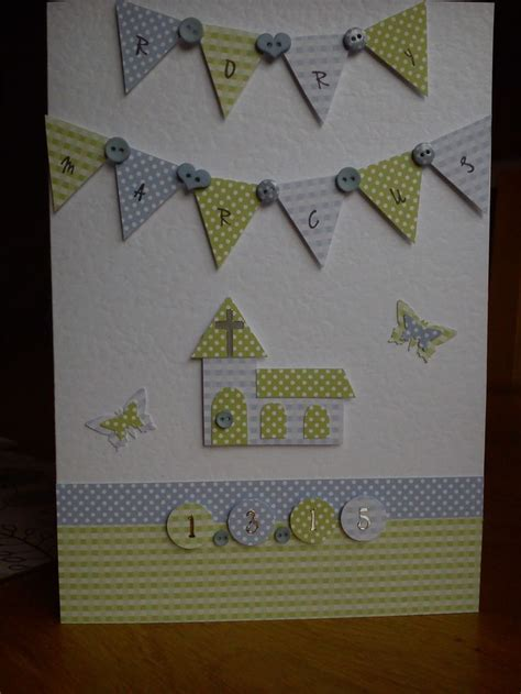 Handmade Christening Card Ideas - best 25 handmade christening cards ideas on