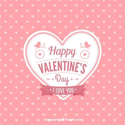 cutest valentines s card vector free